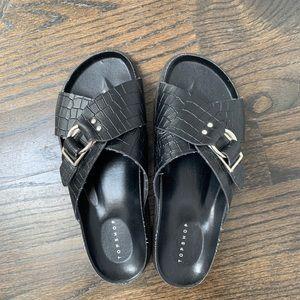 Topshop Women's Chunky Sandal EU 39